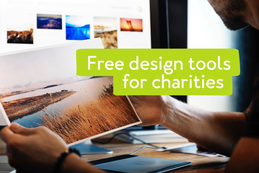 Free design tools for charities