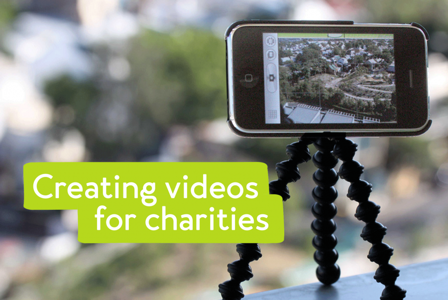 How to create a video for a charity
