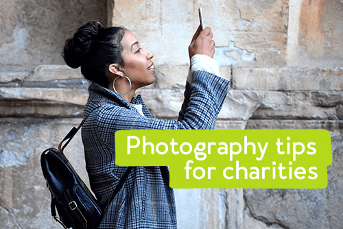 Photography tips for charities
